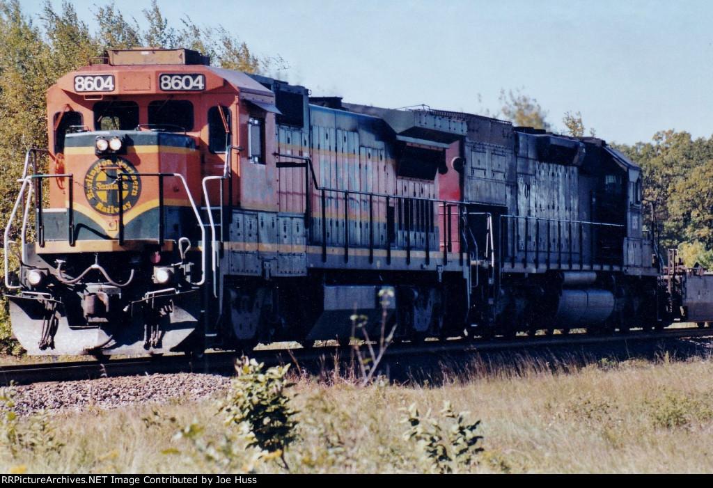 BNSF 8604 East