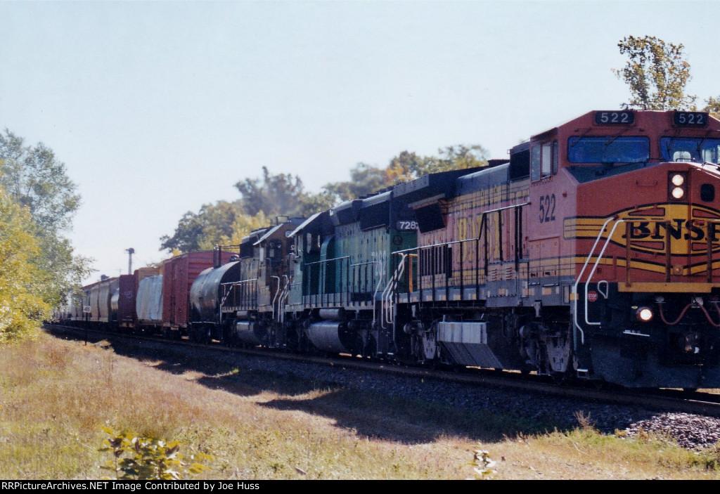 BNSF 522 West