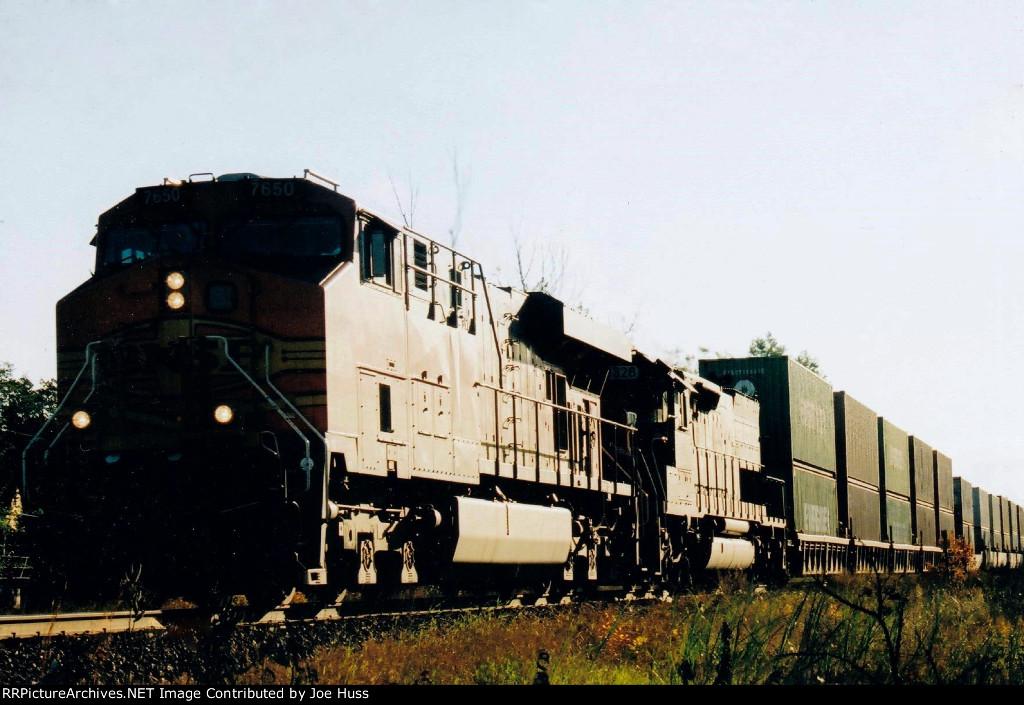 BNSF 7650 West