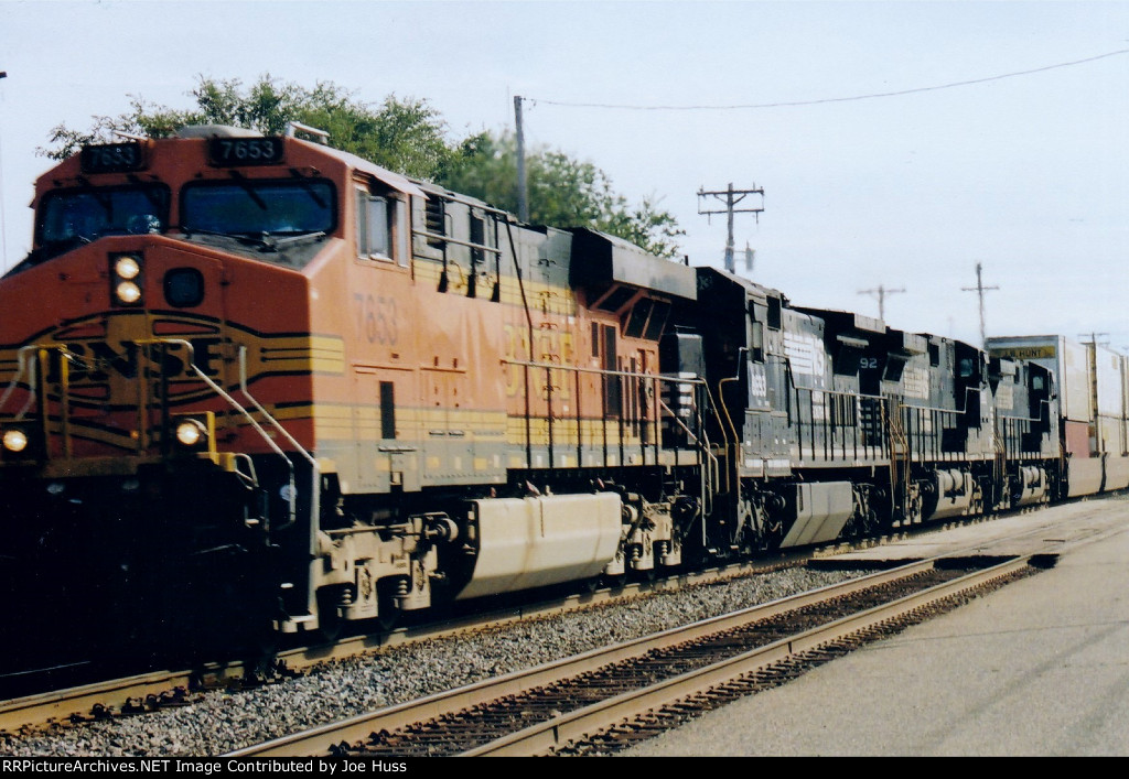 BNSF 7653 West