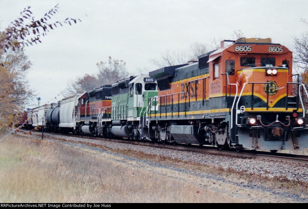 BNSF 8605 West