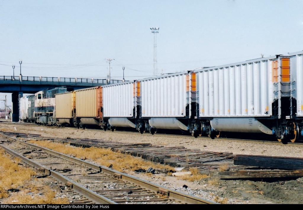 BNSF 9834 DPU