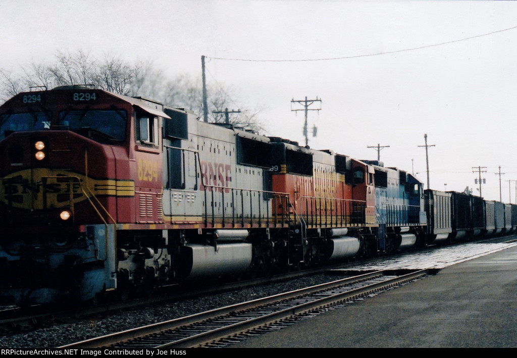 BNSF 8294 West