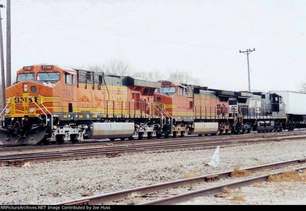 BNSF 7740 West