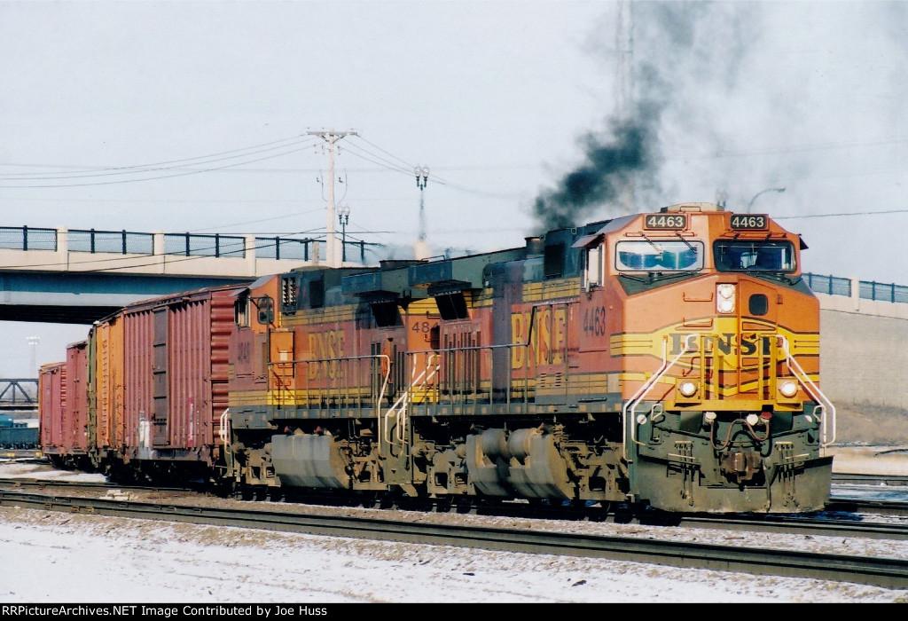 BNSF 4463 West