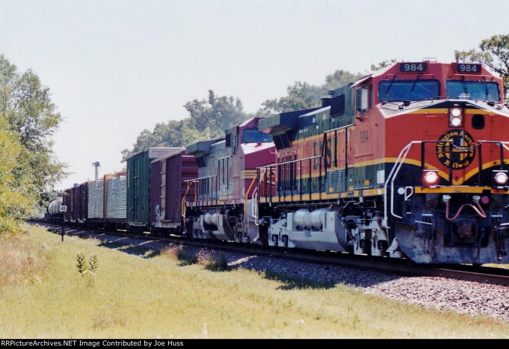 BNSF 984 West