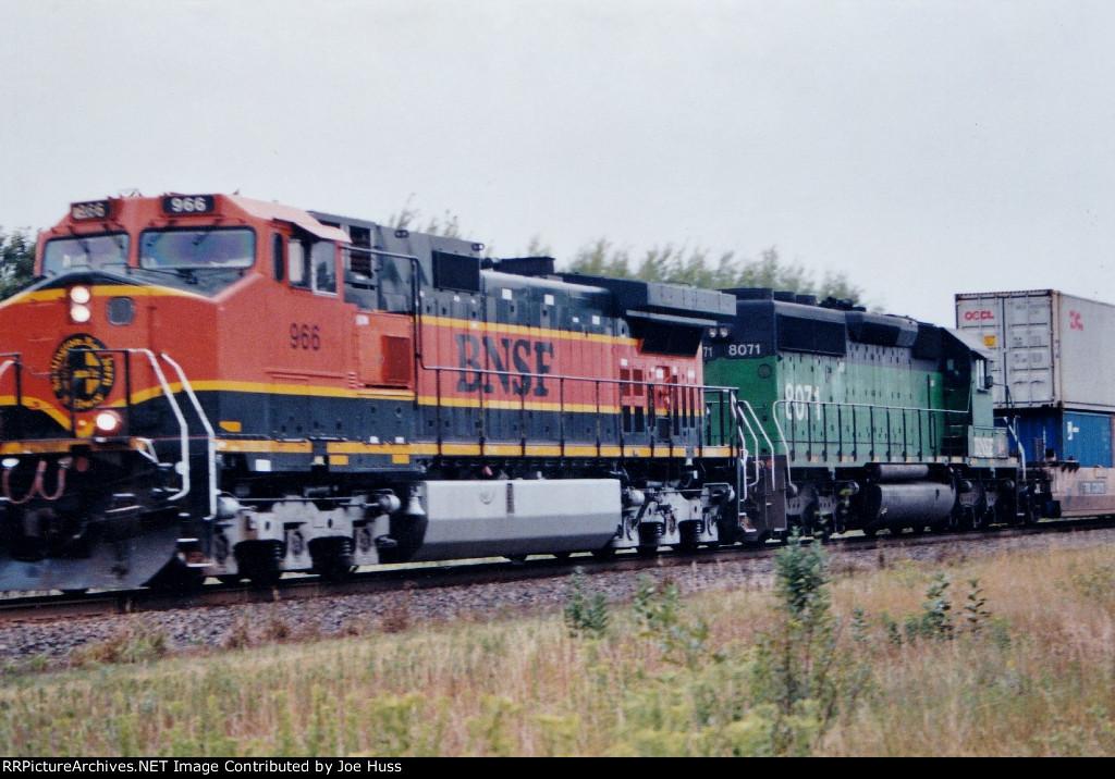 BNSF 966 East