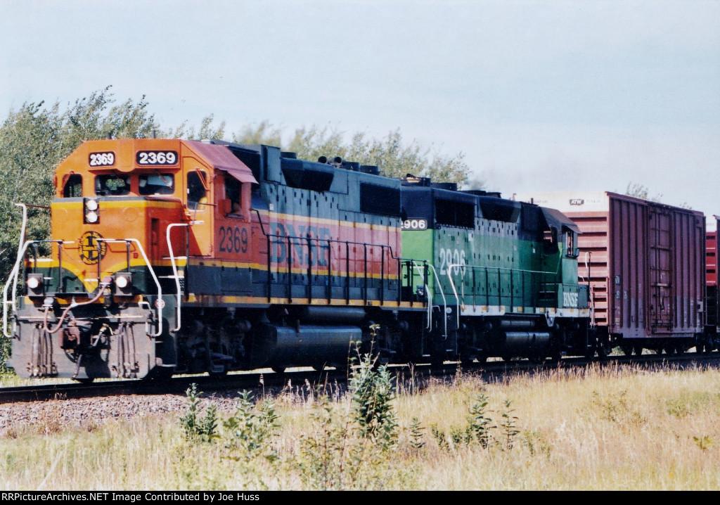 BNSF 2369 East