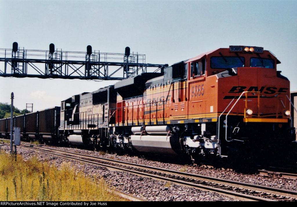 BNSF 9385 West
