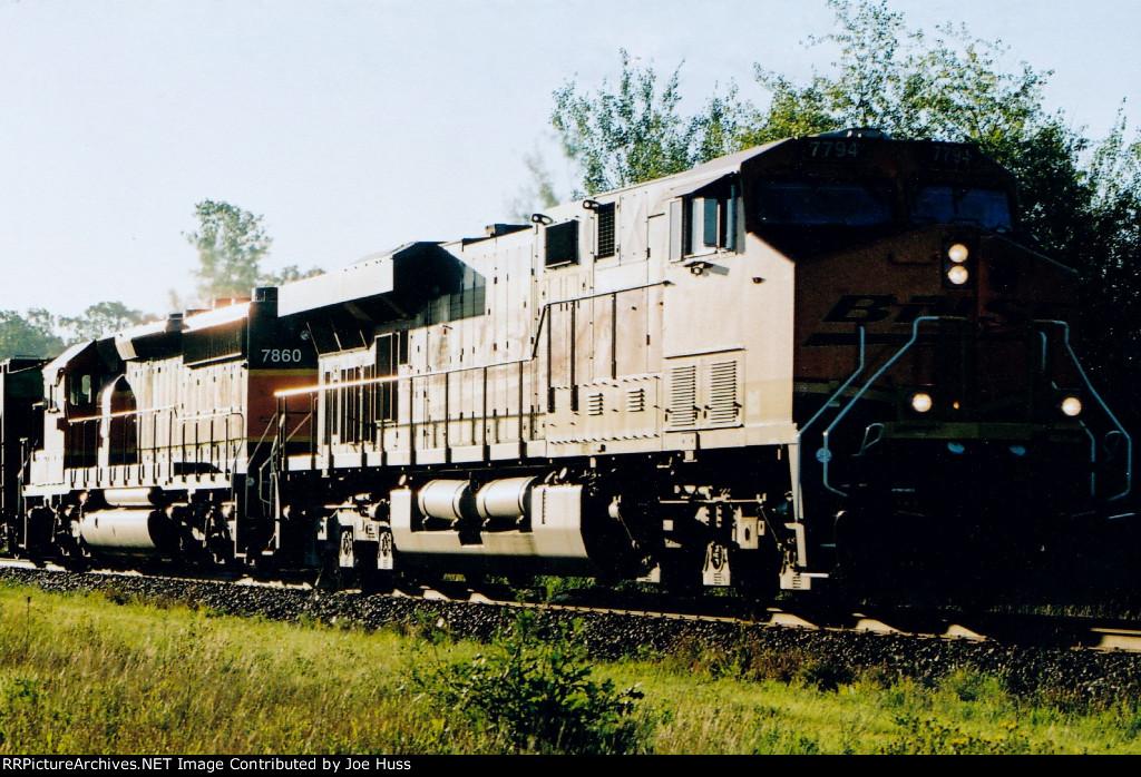 BNSF 7794 West