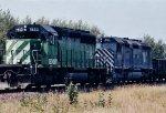 BNSF 7853 East