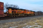 BNSF 6520 and 5462