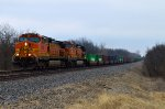 BNSF 5285 and 4968