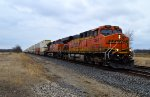 BNSF 7464 and 7676