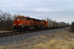 BNSF 6934 and 8322
