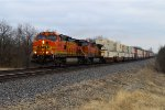 BNSF 4645 and 5663
