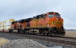 BNSF 4667 and 7872