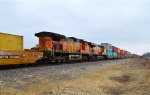 BNSF 5329 and 7223