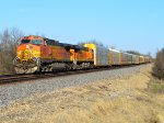 BNSF 4311 and 7813
