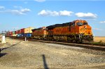 BNSF 3968 and 7958