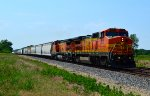 BNSF 553 and 506