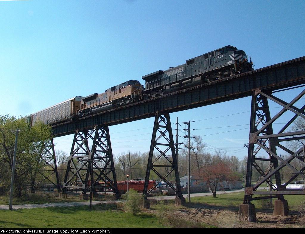 Westbound NS Merchandise Train