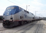 Northbound Amtrak Ann Rutledge Train #314