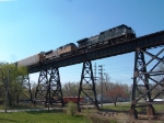 Westbound NS Merchandise Train