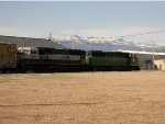 Former Burlington Northern's and the Mountains