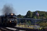 NS 288 Rolling coal passed ol glory