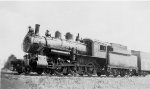 CP 4-6-0 #539 - Canadian Pacific Rwy