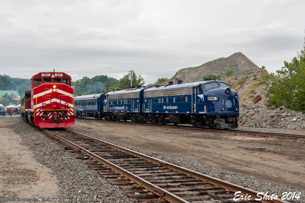 Excursion Train and Business Train