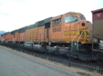 BNSF 8840 SD70MAC with Portland bound coal