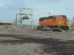 BNSF 8254 SD75M sitting near Prince, Inc.