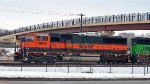 BNSF 1474  On  a  Transfer   Job.