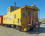 UP 25599 Caboose