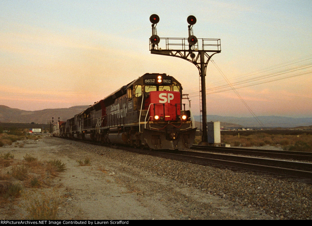 Southern Pacific 8652 West.