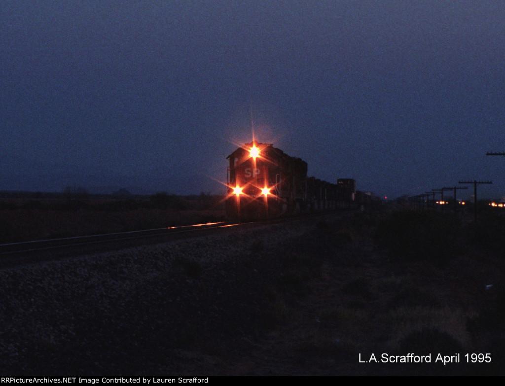 SP 9751 Westbound