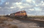 WC #6589 with Eastbound Mixed Freight