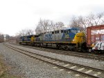 CSX 375 and 3013