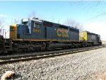 CSX 8441 and 4011