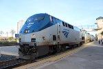 Amtrak 11 at Emeryville