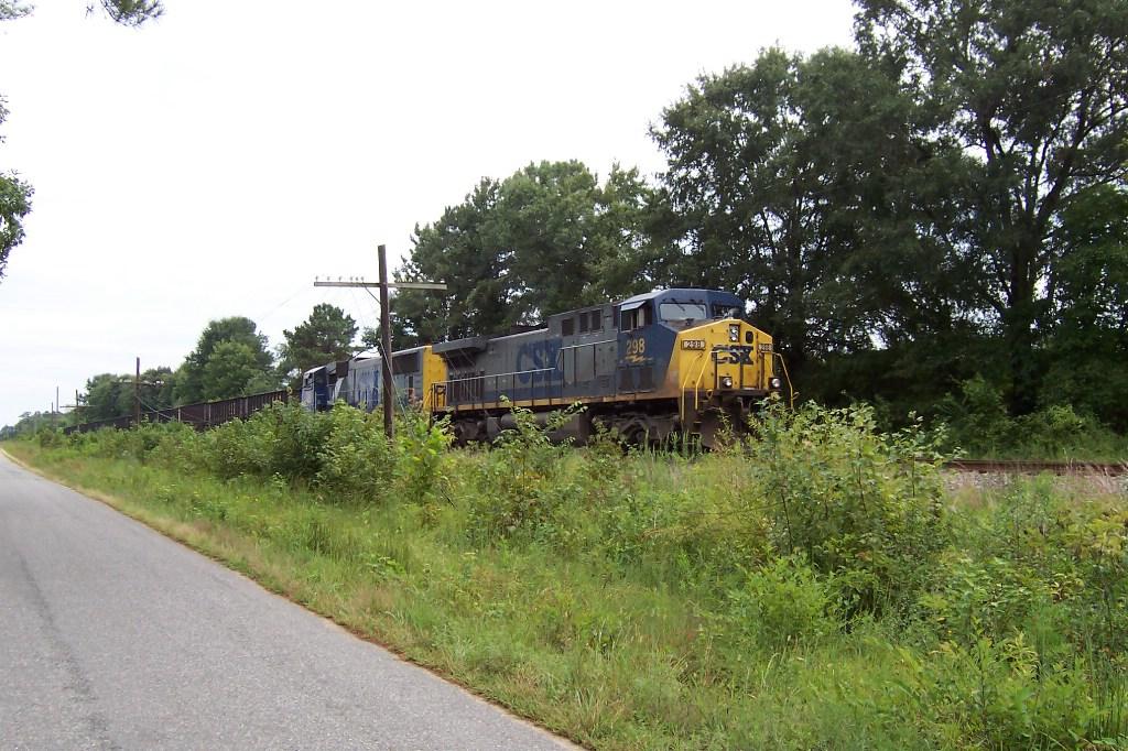 Another empty coal train behind Engineer Wren