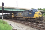 CSXT 693 puts the spurs to it's K277