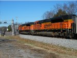 Two BNSF SD70ACe's are the DPU's
