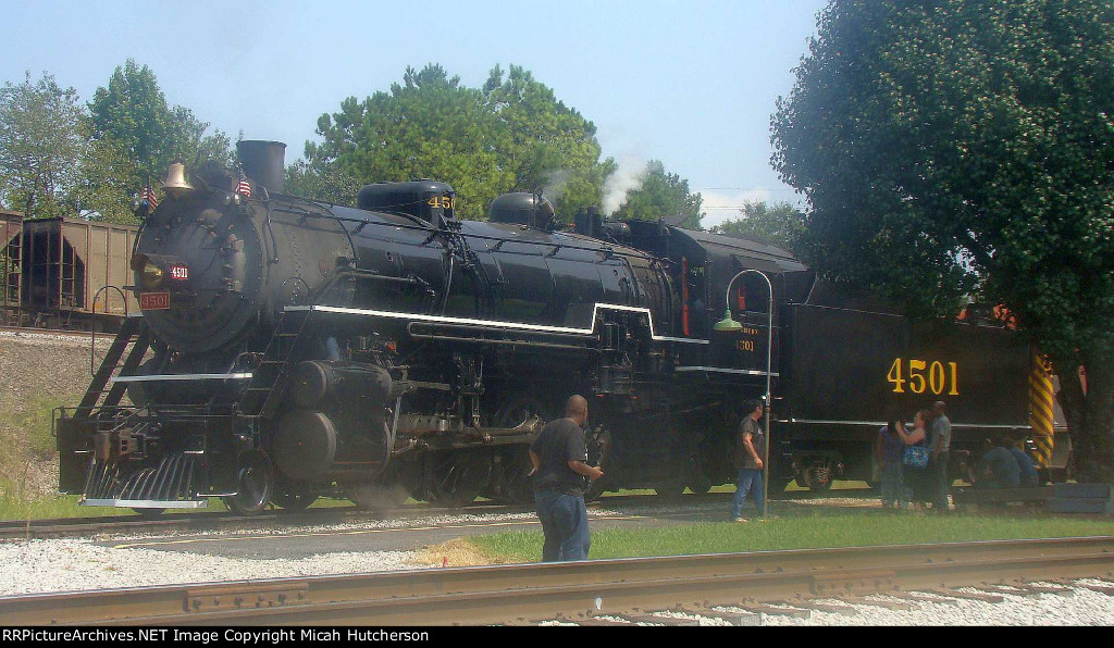 Southern 4501 at Grand Junction Station