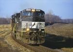 Empty ballast train 92R