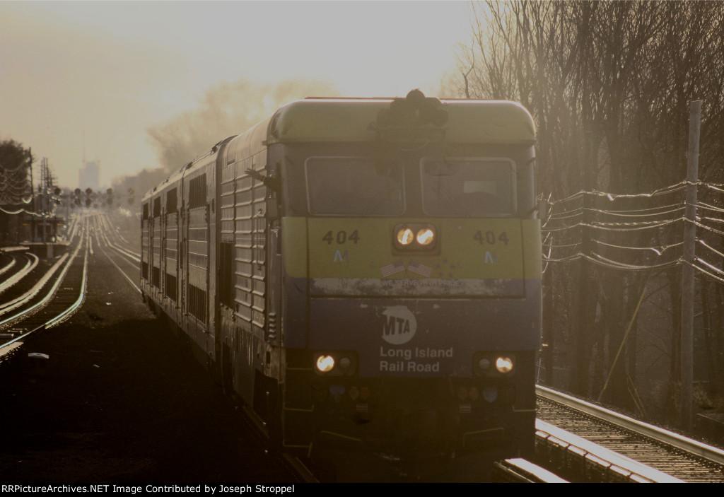 LI 404 at Golden Hour