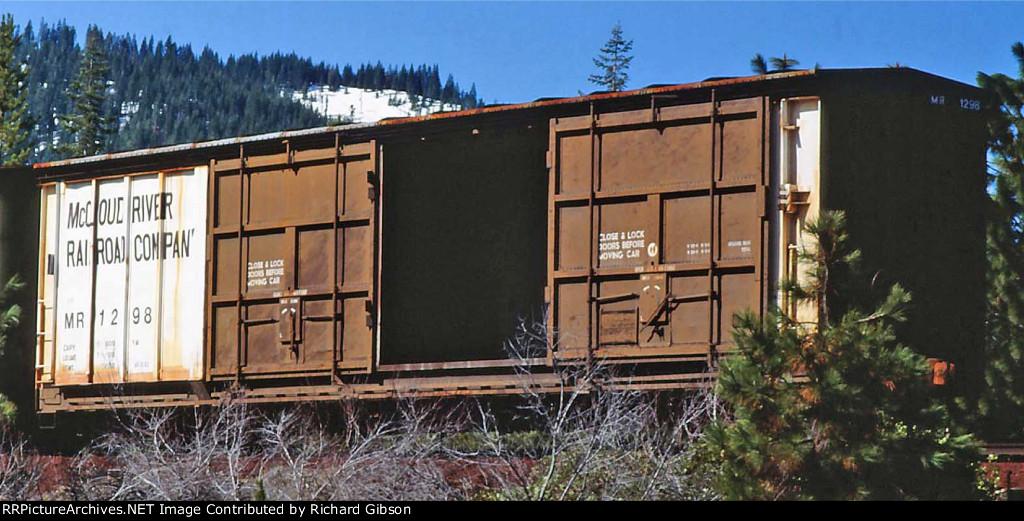 MR 1298 Box Car