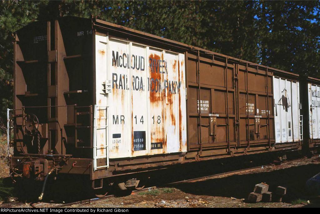 MR 1418 Box Car
